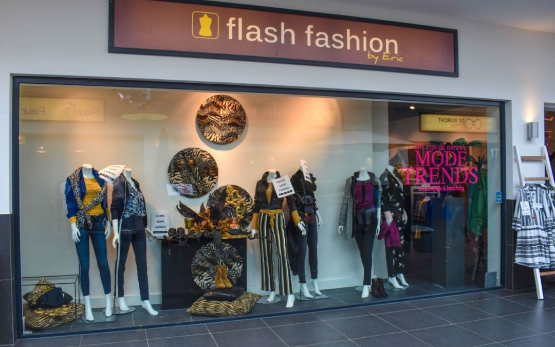 Flash Fashion by Eric, een begrip in de Burcht