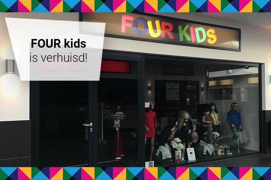FOUR kids heeft een nieuw adres!