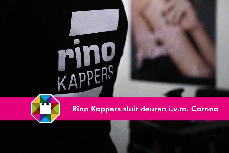 Rino Kappers hanteert gewijzigde openingstijden i.v.m. Corona-crisis