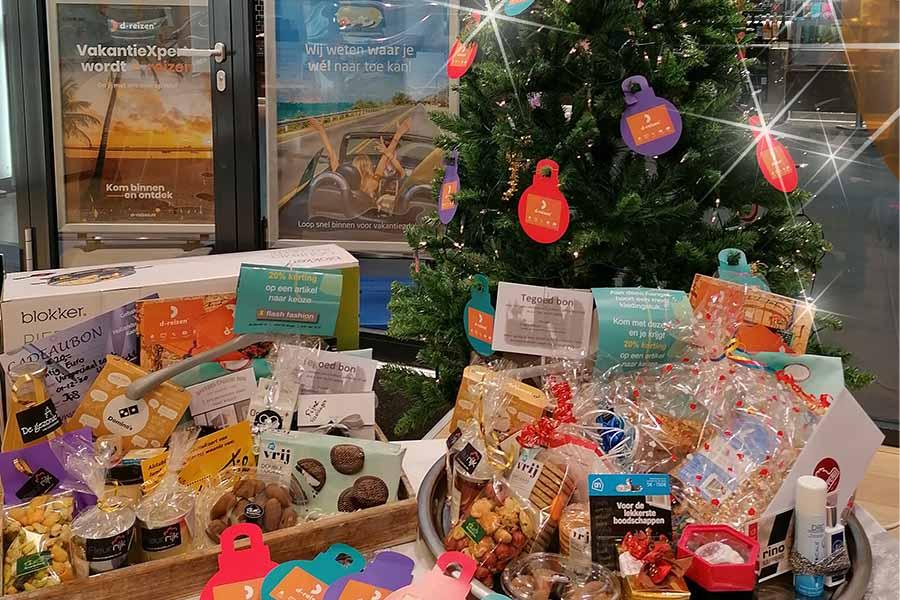 Kerstpakket winnen bij d-reizen de Burcht